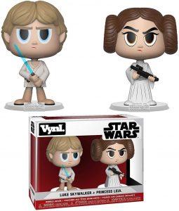 Figura de la princesa Leia y Luke Skywalker de Star Wars de Vynl - Figuras de acción y muñecos de Leia Organa de Star Wars
