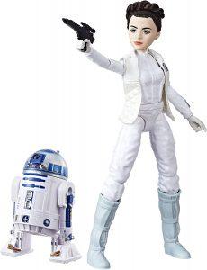 Figura de la princesa Leia y R2-D2 de Star Wars de Hasbro - Figuras de acción y muñecos de Leia Organa de Star Wars