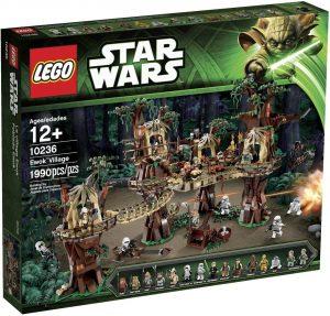 Figura de villa de los Ewoks de Star Wars de LEGO - Figuras de acción y muñecos de Ewoks de Star Wars
