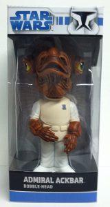 Figura del Almirante Ackbar de Star Wars de Bobble Head - Figuras de acción y muñecos de Almirante Ackbar de Star Wars