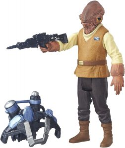 Figura del Almirante Ackbar de Star Wars de Hasbro - Figuras de acción y muñecos de Almirante Ackbar de Star Wars