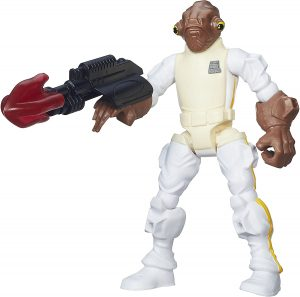 Figura del Almirante Ackbar de Star Wars de Hero Smashers - Figuras de acción y muñecos de Almirante Ackbar de Star Wars