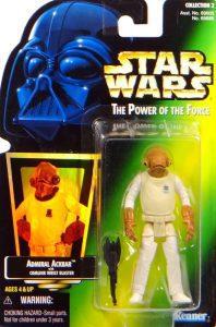 Figura del Almirante Ackbar de Star Wars de Kenner 2 - Figuras de acción y muñecos de Almirante Ackbar de Star Wars