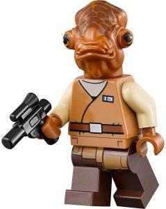 Figura del Almirante Ackbar de Star Wars de LEGO 2 - Figuras de acción y muñecos de Almirante Ackbar de Star Wars