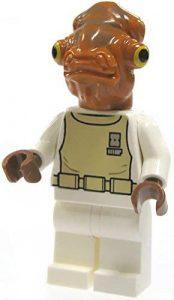 Figura del Almirante Ackbar de Star Wars de LEGO - Figuras de acción y muñecos de Almirante Ackbar de Star Wars