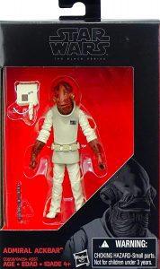 Figura del Almirante Ackbar de Star Wars de The Black Series 2 - Figuras de acción y muñecos de Almirante Ackbar de Star Wars