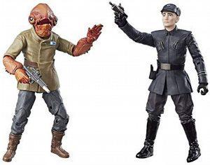 Figura del Almirante Ackbar y Primera Orden de Star Wars de The Black Series - Figuras de acción y muñecos de Almirante Ackbar de Star Wars