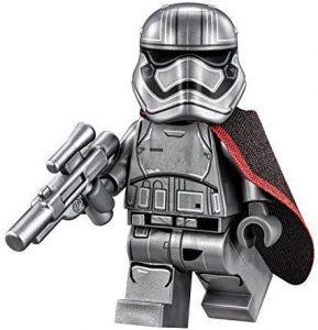 Figura del Capitán Phasma de Star Wars de LEGO 2 - Figuras de acción y muñecos de Capitán Phasma de Star Wars