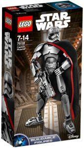 Figura del Capitán Phasma de Star Wars de LEGO - Figuras de acción y muñecos de Capitán Phasma de Star Wars