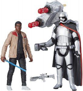 Figura del Capitán Phasma y Finn de Star Wars de Hasbro - Figuras de acción y muñecos de Capitán Phasma de Star Wars