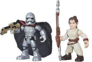 Figura del Capitán Phasma y Rey de Star Wars de Playskool - Figuras de acción y muñecos de Capitán Phasma de Star Wars
