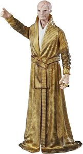 Figura del líder Supremo Snoke de Star Wars de Hasbro Disney Action - Figuras de acción y muñecos de Snoke de Star Wars