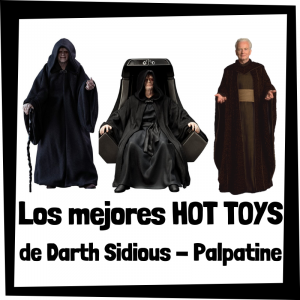 Hot Toys de Emperador Palpatine - Darth Sidious