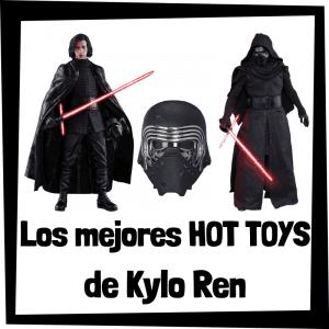 Figuras Hot Toys de Kylo Ren - Hot Toys de figuras de colección de Kylo Ren de Star Wars