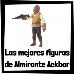 Figuras de acción y muñecos de Almirante Ackbar