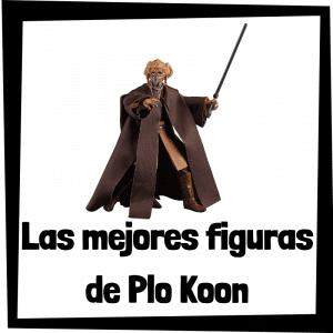 Figuras de acción y muñecos de Plo Koon