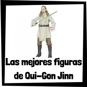 Figuras de acción y muñecos de Qui-Gon Jinn