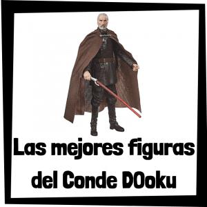 Figuras de acción y muñecos de Conde Dooku