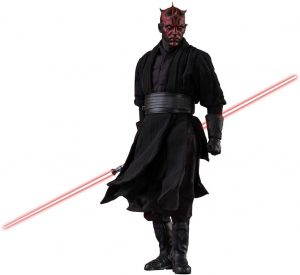 Hot Toys de Darth Maul de Star Wars del Episodio I - Figuras de acción y muñecos de Darth Maul de Star Wars
