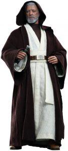 Hot Toys de OBI WAN Kenobi Star Wars Episodio 4 Una Nueva Esperanza - Figuras de acción y muñecos de Obi Wan Kenobi de Star Wars