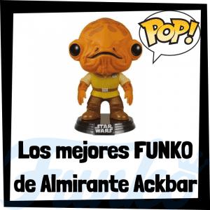 Los mejores FUNKO POP de Almirante Ackbar - FUNKO POP de Star Wars