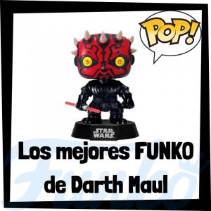 Los mejores FUNKO POP de Darth Maul - FUNKO POP de Star Wars