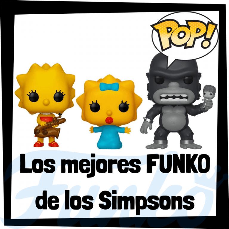 Los mejores FUNKO POP de personajes de los Simpsons - Funko POP de la serie de los Simpsons