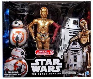 Pack de Droides de Star Wars de Hasbro - Figuras de acción y muñecos de C-3PO de Star Wars