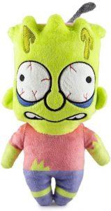 Peluche de Bart Simpson Zombie de los Simpsons - Muñecos de Bart Simpson de los Simpsons - Peluches de los Simpsons