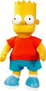 Peluche de Bart Simpson de los Simpsons - Muñecos de Bart Simpson de los Simpsons - Peluches de los Simpsons