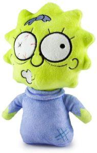 Peluche de Maggie Simpson Zombie de los Simpsons - Muñecos de Maggie Simpson de los Simpsons - Peluches de los Simpsons
