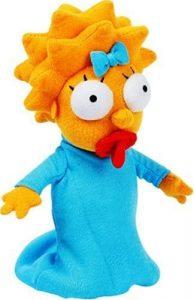 Peluche de Maggie Simpson de los Simpsons - Muñecos de Maggie Simpson de los Simpsons - Peluches de los Simpsons