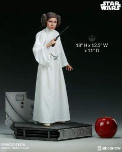 Sideshow Hot Toys de la princesa Leia de Star Wars - Figuras de acción y muñecos de Leia Organa de Star Wars
