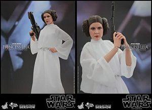 Sideshow Hot Toys de la princesa Leia de Star Wars clásica - Figuras de acción y muñecos de Leia Organa de Star Wars