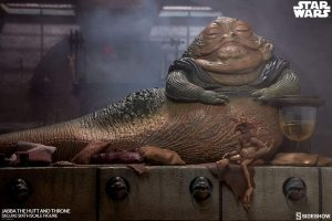 Sideshow de Figura de Jabba el Hutt de Star Wars - Figuras de acción y muñecos de Jabba el Hutt de Star Wars