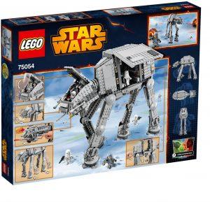AT-AT de LEGO Star Wars - Juguete de construcción de LEGO de AT-AT 75054