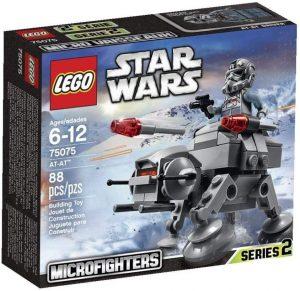 AT-AT mini de LEGO Star Wars - Juguete de construcción de LEGO de AT-AT 75075