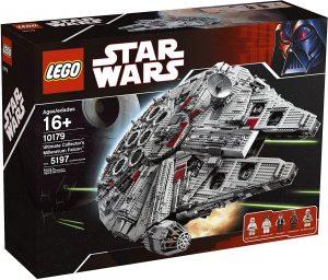 El Halcón Milenario de LEGO Star Wars - Juguete de construcción de LEGO del Halcón Milenario 10179
