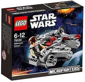 El Halcón Milenario de LEGO Star Wars - Juguete de construcción de LEGO del Halcón Milenario 75030 Mini