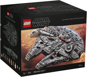 El Halcón Milenario de LEGO Star Wars - Juguete de construcción de LEGO del Halcón Milenario 75192 Edición Coleccionista