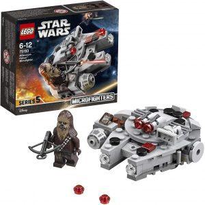 El Halcón Milenario de LEGO Star Wars - Juguete de construcción de LEGO del Halcón Milenario 75193 Mini