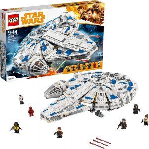 El Halcón Milenario de LEGO Star Wars - Juguete de construcción de LEGO del Halcón Milenario 75212