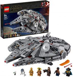 El Halcón Milenario de LEGO Star Wars - Juguete de construcción de LEGO del Halcón Milenario 75257