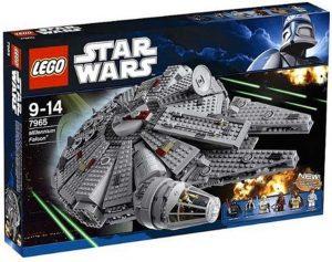 El Halcón Milenario de LEGO Star Wars - Juguete de construcción de LEGO del Halcón Milenario 7965