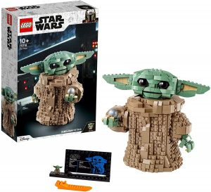 Figura de Baby Yoda de LEGO Star Wars - Juguete de construcción de LEGO de Baby Yoda 75318 - Figura LEGO The Child de The Mandalorian de Baby Yoda el Niño