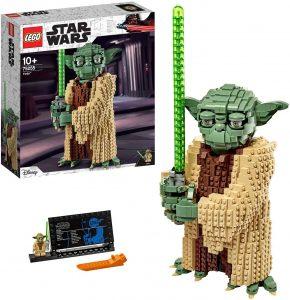 Figura de Yoda de LEGO Star Wars - Juguete de construcción de LEGO de Yoda 75255 - Figura LEGO de Yoda de Clone Wars
