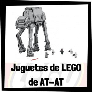 Juguetes de LEGO de AT-AT de la Batalla de Hoth de Star Wars - Sets de lego de construcción de AT-AT