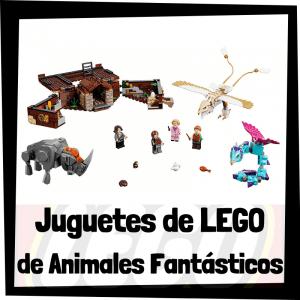 Juguetes de LEGO de Animales Fantásticos y Donde Encontrarlos - Sets de lego de construcción de Animales Fantásticos