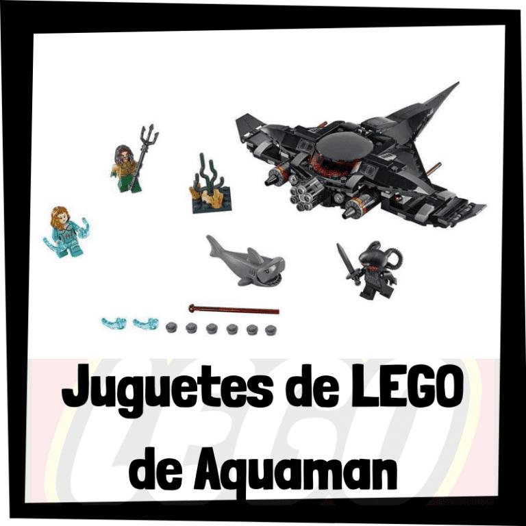 Lee más sobre el artículo Juguetes de LEGO de Aquaman