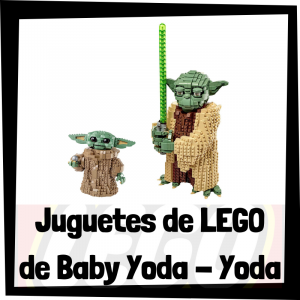 Juguetes de LEGO de Baby Yoda y Yoda